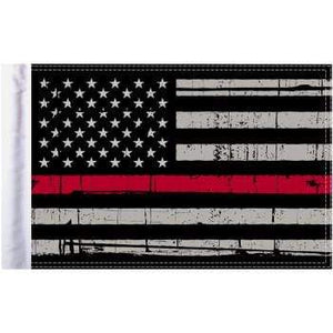 "Parts Unlimited American Flag Grunge U.S.A. Flag - Red - 10"" x 15"" by Pro Pad FLG-GTRL-US15"