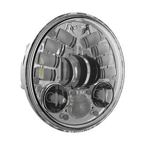 "Western Powersports Headlight Headlights L.E.D. Non-adaptive 5.75"" Round Chrome by J.W. Speakers 0551731"