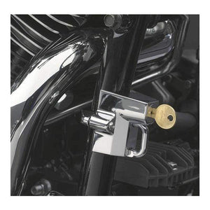 "Kuryakyn Helmet Accessory Helmet Lock for 1-1/4"" to 1-1/2"" Tube Universal Chrome by Kuryakyn 4232"