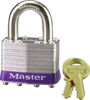 "Western Powersports Pad Lock Laminated Steel Padlock 1.75"" by Master Lock 1D"