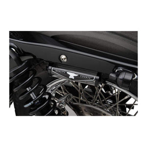 Parts Unlimited License Plate Accessory License Plate Stash Tube Black by Biltwell RT-ALY-00-BK