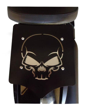 BDD Customs Luggage Rack Luggage Rack Solo Seat Skull by BDD Customs 101-019-400