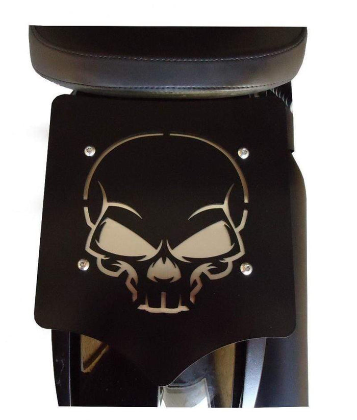 Luggage Rack Solo Seat Skull by BDD Customs