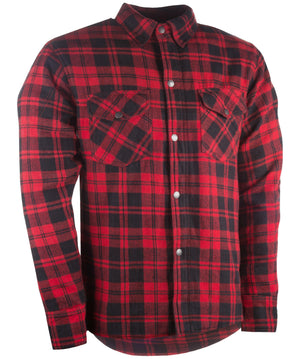 Western Powersports Drop Ship Shirt SM / Black/Red Marksman Flannel by Highway 21 489-1180S