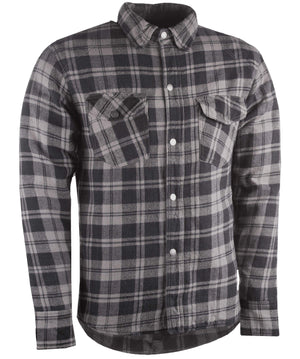 Western Powersports Drop Ship Shirt SM / Black/Grey Marksman Flannel by Highway 21 489-1181S