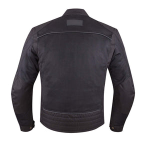 Off Road Express Jacket Men's Mesh Shadow Riding Jacket with Removable Lining, Black by Polaris