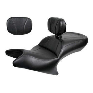 Ultimate Seats Seat Midrider Driver Backrest and Passenger Backrest Pad Black by Ultimate Seats 3CA-12800-B