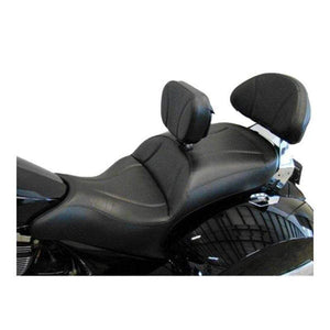 Ultimate Seats Seat Midrider Driver Backrest and Stock Passenger Backrest Pad Cover by Ultimate Seats 3C-12800