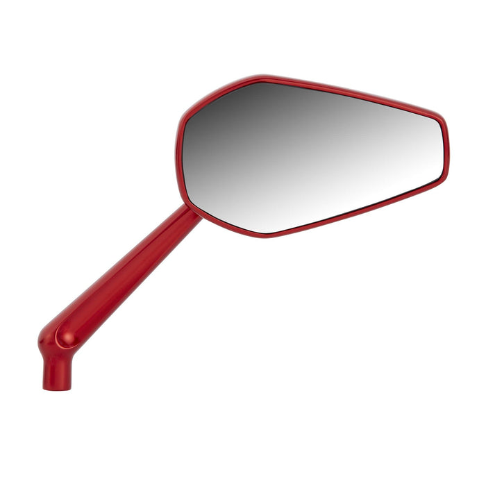 Mini Stocker Mirror RIGHT - Red by Arlen Ness