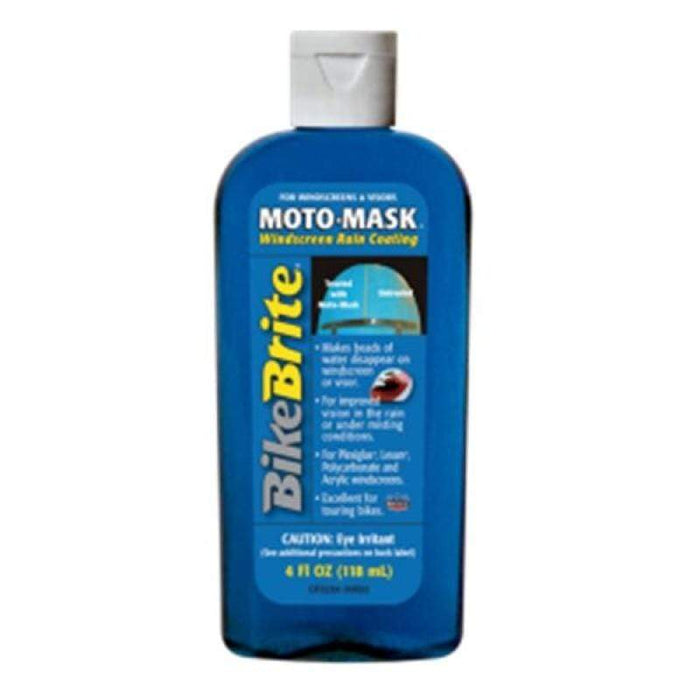 Moto Mask Windshield Rain Coating 4 oz by Bike Brite