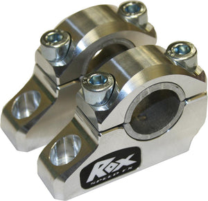 "Western Powersports Handlebar Risers Offset Block Riser 1-1/4"" Rise With Reducer by Rox Speed FX 3R-B12POE"