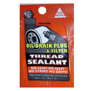 Autozone Chemical Oil Drain Plug & Filter Thread Sealant by AGS 182200