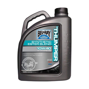 Parts Unlimited Oil OIL THUMPRBLEND 4T 10W-40 by Bel Ray 99520-B4LW