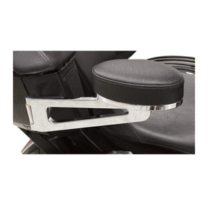 Parts Unlimited Seat Accessory Passenger Chrome Armrests by Rivco VCC094
