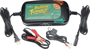 Western Powersports Battery Charger Plus 1.25 Amp Charger by Battery Tender 022-0185G-DL-WH