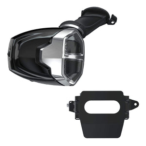 Off Road Express Air Cleaner PowerPlus Stage 1 Air Intake - Thunder Black by Polaris 2884461-266