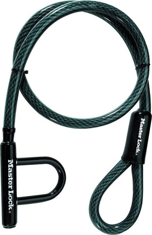 Western Powersports Cable Lock Quantum 20 Cable Lock 5'X20Mm by Master Lock 8156DPS