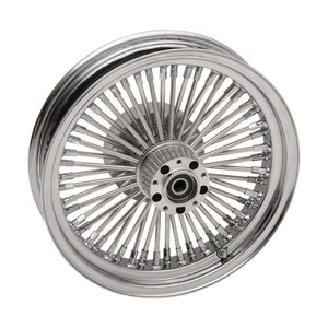 Parts Unlimited Wheel Rear 16x3.50 50 Spoke Laced Wheel Assembly by RideWright 0204-0506