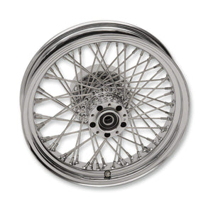 Parts Unlimited Wheel Rear 16x3.50 60 Spoke Laced Wheel Assembly by RideWright 0204-0507