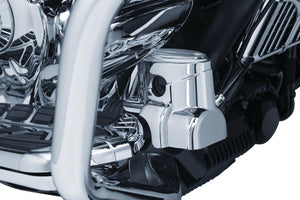 Kuryakyn Reservoir Cover Rear Master Cylinder Cover Chrome by Kuryakyn 5180