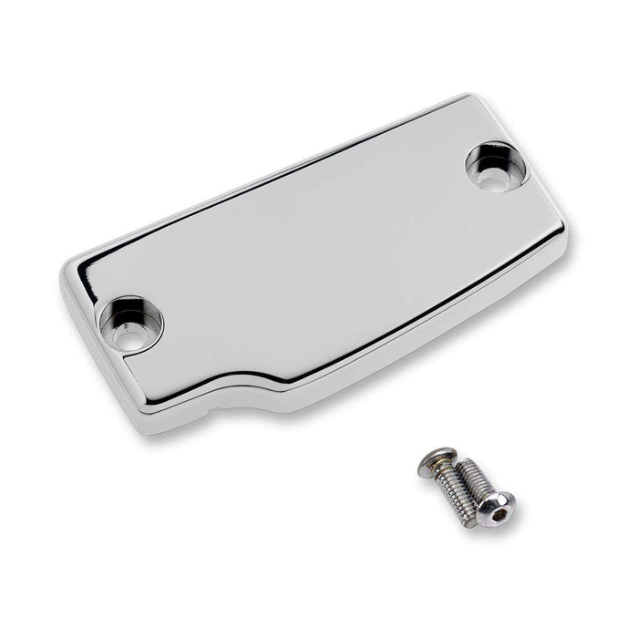Rear Master Cylinder Cover Chrome Smooth by Joker Machine