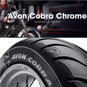 Tucker Rocky Drop Ship Tire Rear Tire Cobra Chrome 250/40R18 AV92 by Avon Tyres 4120213