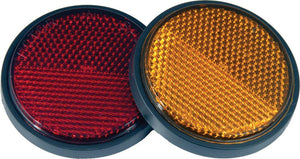 Western Powersports Reflector Reflector Stud Mount Red by Chris Products RR1R