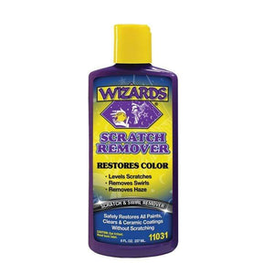 Western Powersports Buffing Scratch Remover 8 oz by Wizards 22049