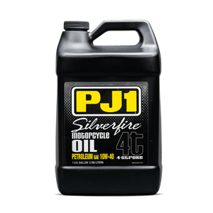 Western Powersports Engine Oil Silverfire Synthetic Engine Oi 4-Stroke 10W40 1 Gal by PJ1 9-32-1G-PET