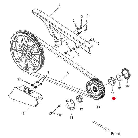 Sprocket Drive Spacer by Polaris