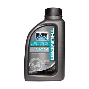 Parts Unlimited Oil THUMPER RACING SYNTHETIC ESTER BLEND 4T ENGINE OIL by Bel Ray 99520-B1LW