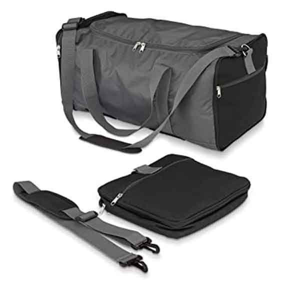 Trunk Rack Bag Collapsible Black by Hopnel