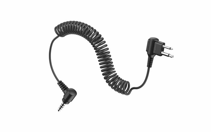 Tufftalk 2-Way Radio Cable Motorola Twin-Pin Connection by Sena