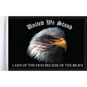 "Parts Unlimited Specialty Flag United We Stand Flag - 6"" x 9"" by Pro Pad FLG-UWS"