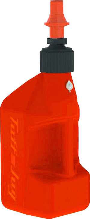 Western Powersports Fuel Can Utility Container Orange W/ Orange Cap 2.7Gal by Tuff Jug OURO10