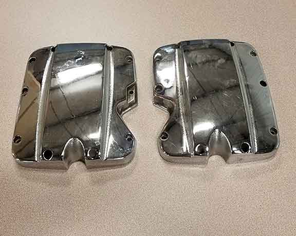Victory Valve Cover Set Chrome USED