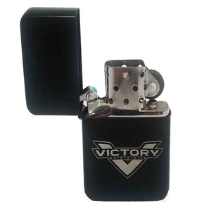 Witchdoctors Victory Zippo Style Black Lighter by Witchdoctors ZIPSCR-BLK