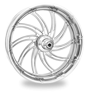 Tucker Rocky Wheel Wheel Front 18 X 3.5 Supra Chrome Indian by Performance Machine PM0433