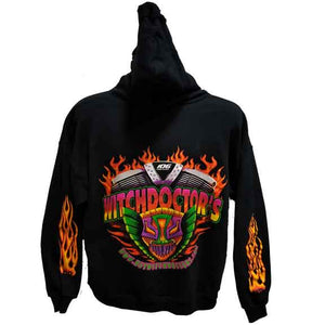 Greg Ozubko Sweatshirt Witchdoctor Hooded Sweatshirt by Witchdoctors