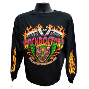 Greg Ozubko Shirt Witchdoctor Long Sleeve T-Shirt by Witchdoctors