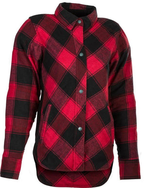 Western Powersports Drop Ship Shirt XS / Black/Red Women's Rogue Flannel by Highway 21 489-1450XS