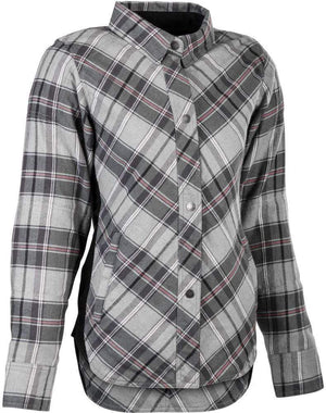 Western Powersports Drop Ship Shirt SM / Pink/Grey Women's Rogue Flannel by Highway 21 489-1451S