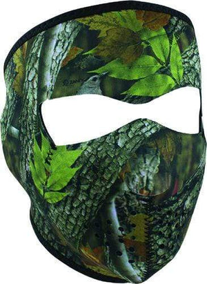 Western Powersports Headwear OS / Forest Camo Zan Neoprene Full Mask by Zan Headgear WNFM238