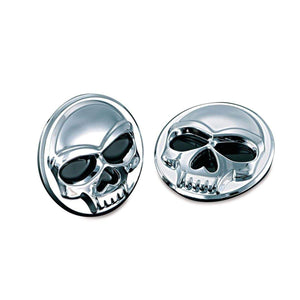"Kuryakyn Dress Up Body Accessory Zombie Medallions 1"" Diameter Chrome by Kuryakyn 1492"