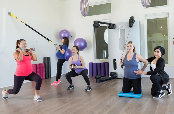 Exercise during pregnancy with Caitlin Ritt (The Lotus Method)