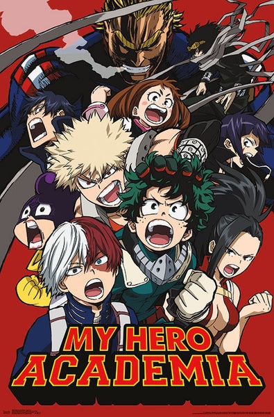 My Hero of Academia Key Art 2