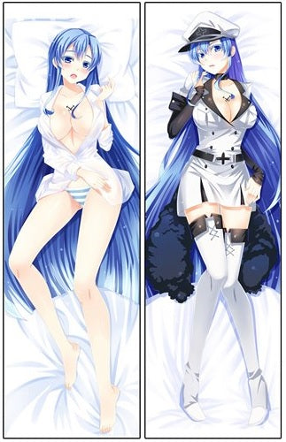 Akame Ga Kill Body Pillow (double sided)