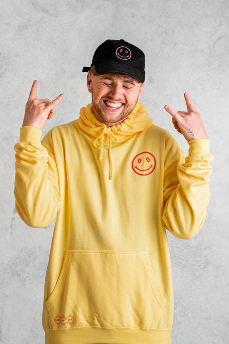 Good Vibes Only Hoodie - Summer Yellow