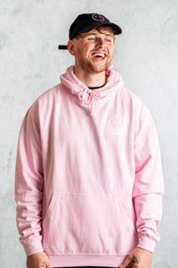 Good Vibes Only Hoodie - Light Pink