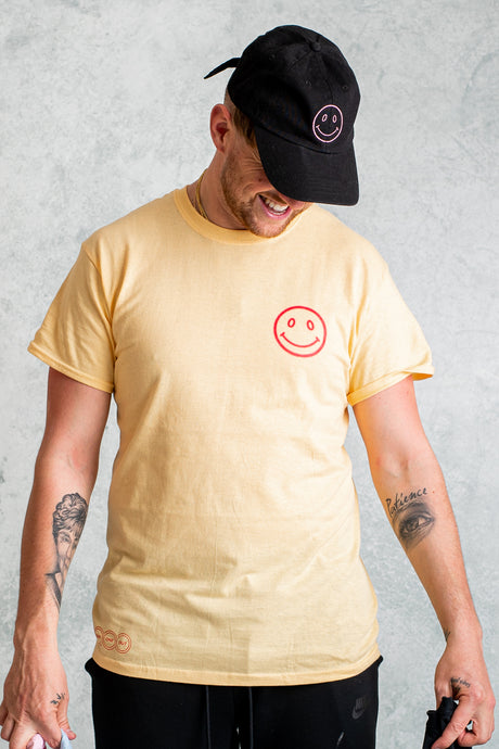 Good Vibes Only T-Shirt - Summer Yellow